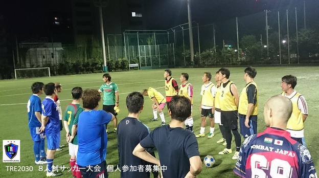 第1回 TRE2030大人の8人制サッカー大会 @ 小石川運動場 | 文京区 | 東京都 | 日本